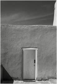Jan-Oliver Wenzel, Door, St. Francis Church, Ranchos de Taos, New Mexico, 2010