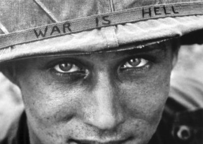 Horst-Faas, WAR IS HELL, US-Soldat am 18. Juni 1965 in Vietnam