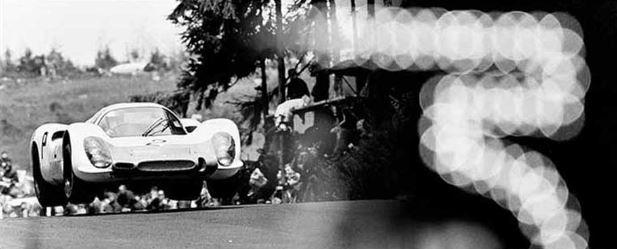 Werner Eisele, Hoch und weit, Nürburgring 1968 Galerie Stephen Hoffman