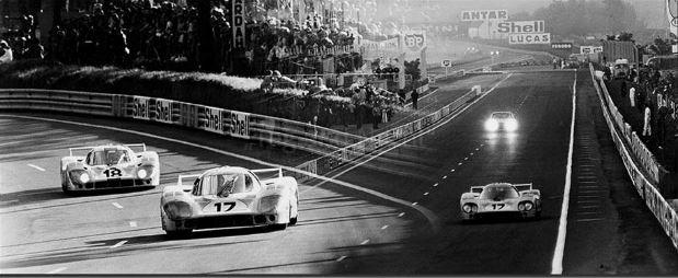 Werner Eisele, Tag und Nacht - 24 h Le Mans