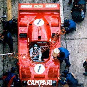 Werner Eisele, Merzario Lafette/Alfa Romeo 33-T12 – 1000 KM Nürburgring 1975, Galerie Stephen Hoffman