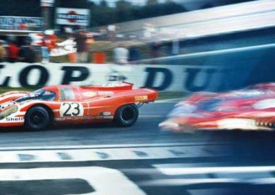 Werner Eisele, Austria Porsche 917 siegt bei den 24 Stunden von Le Mans 1970, Galerie Stephen Hoffman, München