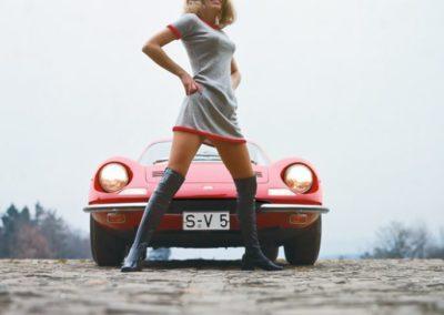 """Werner Eisele """"Dino Ferrari 246 GT 1966"""" – Der Junior im Portfolio von Enzo Ferrari, Galerie Stephen Hoffman, München"""