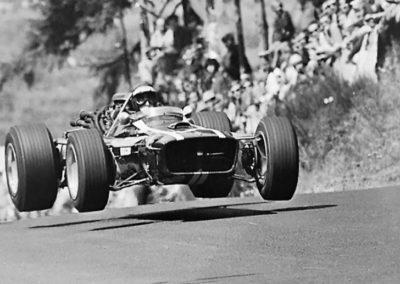 Werner Eisele, Formel 1 - Nürburgring 1966 – Jochen Rindt im Cooper Maserati, Galerie Stephen Hoffman , München
