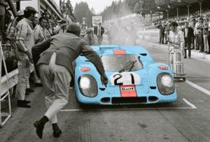 Werner Eisele, 1000 km Rennen von Spa Francorchamps 1970 - Galerie Stephen Hoffman
