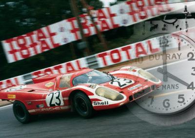 Werner Eisele, Le Mans 1970 -Herrmann und Attwood-Sieg im Porsche 917 K Galerie Stephen Hoffman