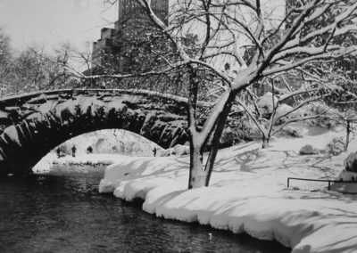Alfred Eisenstaedt,, NY, Winter im Central Park South, Galerie Stephen Hoffman