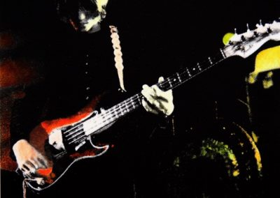 Giack Londra alias Giacomo Incorvaia - ROGER WATERS AM BASS, GSH