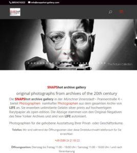 Snapshot archive gallery, München, Prannerstrasse 4, Inhaber Stephen Hoffman