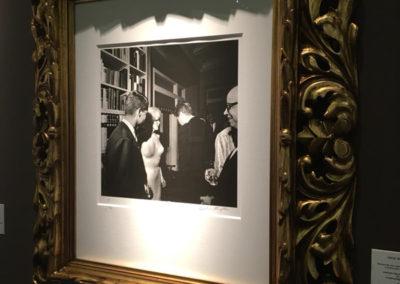 Cecil William Stoughton, Marilyn Monroe and John F. Kennedy, 1962, analoger Handabzug auf PE Papier, vorderseitig signiert, nummeriert 1/1 - Galerie Stephen Hoffman, München