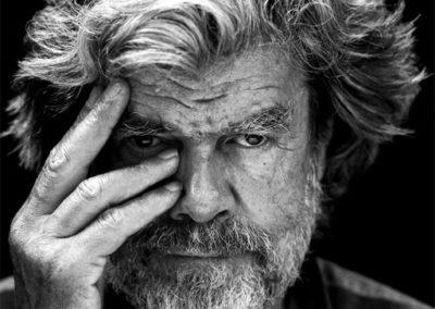 Erwin Lanzensberger, Reinhold Messner I, Galerie Stephen Hoffman