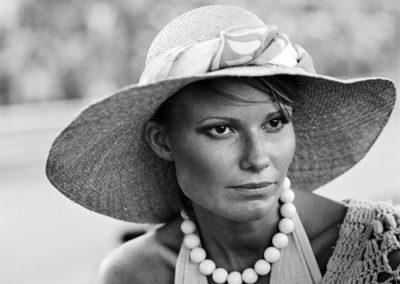 Werner Eisele, Suzy Hunt - spätere Lady Burton, Grand Prix von Monaco 1974-GSH