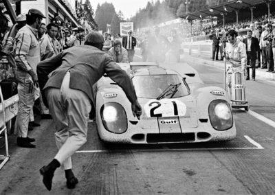 Werner Eisele, 1000 km Rennen von Spa, Francorchamps 1970 - GSHoffman