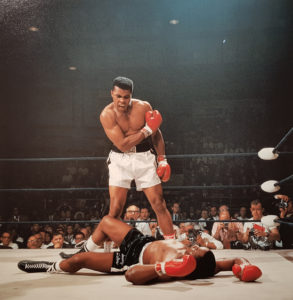 Neil Leifer, Muhammad Ali vs. Sonny Liston, 1965, Galerie Stephen Hoffman