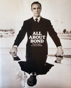 BUCHCOVER: All about Bond - Photographs by TerryO'Neil hier:: Sean Connery, Diamonds are forever, Galerie Stephen Hoffman