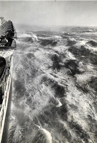 Alfred Eisenstaedt, Hurricane in the Atlantic Photographed from the S.S. Queen Elizabeth, 1948, Galerie Stephen Hoffman