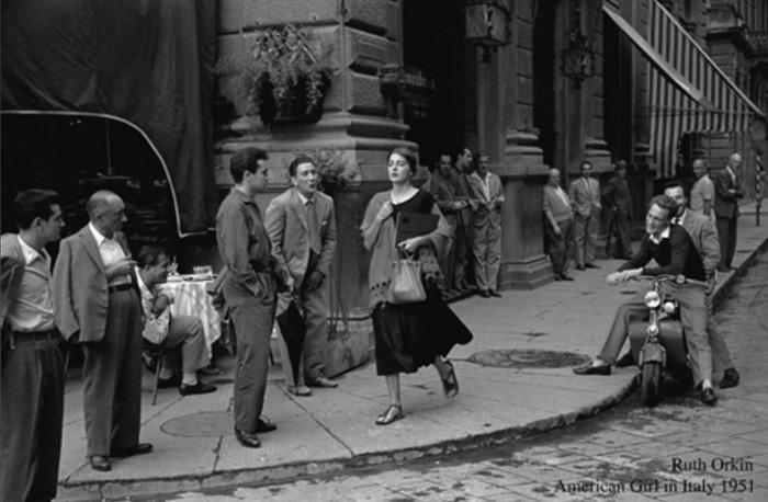 Ruth Orkin - American Girl in Italy - Galerie Stephen Hoffman