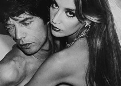Norman Pakinson, Mick Jagger und Jerry Hall, 1981, Galerie Stephen Hoffman, München