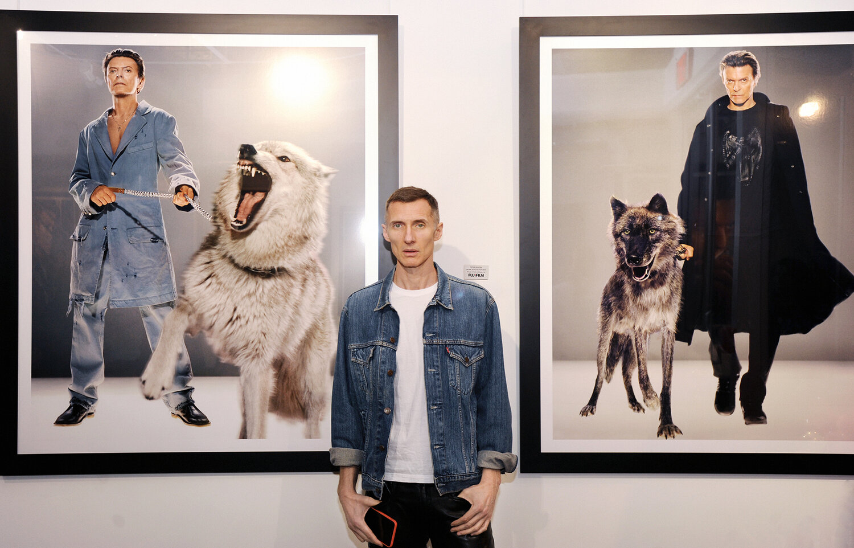 """Markus Klinko, David Bowie_""""unseen"""" Copyright: Markus Klinko / Galerie Stephen Hoffman, München"""