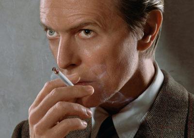 Markus Klinko, SMOKING - David Bowie, Galerie Stephen Hoffman