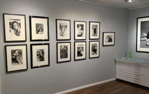 Eva Sereny, Ausstellung Romy Schneider, Galerie Stephen Hoffman - München